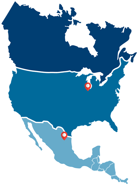 With locations in Addison, Illinois and Nuevo Leon, Mexico, Metal-Core Technologies offers precision manufacturing technologies for metal forming projects.